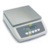 Kép 1/2 - Kompakt mérleg, nemesacél lap, SzxMé: 252x228mm, mérési tartomány: max.12 kg, pontosság: 1,0 g