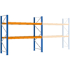 Kép 2/2 - Raklaptároló polcrendszer, Alapegység, 2 szint, Teherbírás 2120 kg