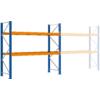Kép 2/2 - Raklaptároló polcrendszer, Bővítő egység, 3 szint, Teherbírás 3000 kg