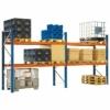 Kép 1/2 - Raklaptároló polcrendszer, Alapegység, 2 szint, Teherbírás 3000 kg