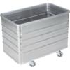 Kép 2/2 - Alumínium doboz-kocsi, sima falak, SzxMéxM: 580x990x772 mm, kocsi tetővel és zárral