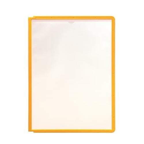 """Bemutatótábla, A4, DURABLE """"SHERPA®"""", sárga"""