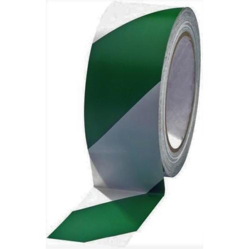 Padlójelölő szalag 33 x 25mm zöld- fehér