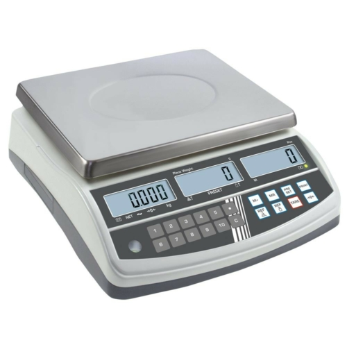 Számláló-mérleg CPB, nem hitelesített, SzxMéxM: 315x355x110 mm, mérési tartomány: 30 kg