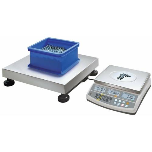Számláló/referencia-mérleg CCS, anyaga: nemesacél, terhelés 150 kg-ig