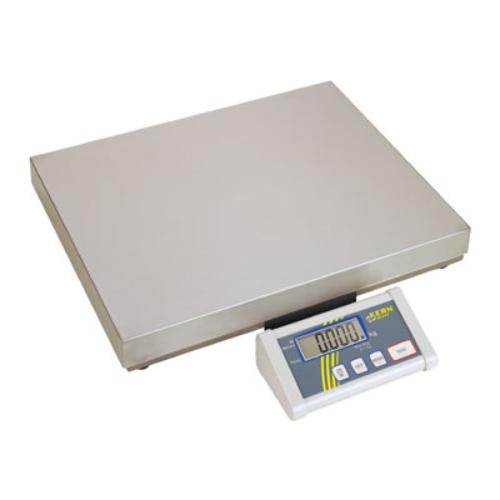 Lapos formátumú mérleg, mérési tartomány: 150/300 kg, leolvashatóság: 50/100 g, LCD-kijelző 25 mm-es számokkal