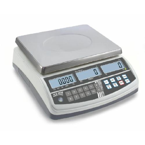 Számláló-mérleg CPB, hitelesített, SzxMéxM: 315x355x110 mm, mérési tartomány: 15 kg