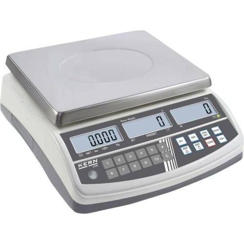 Számláló-mérleg CPB, hitelesített, SzxMéxM: 315x355x110 mm, mérési tartomány: 30 kg